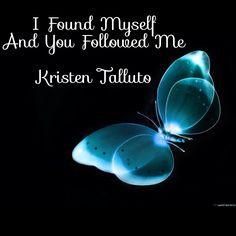 You followed me