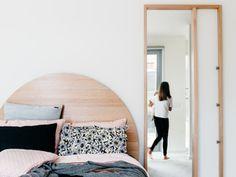 The Layback Mirror by Leÿer - Timber Mirror, Hall Mirror, Bedroom Mirror
