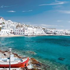 Old port of Mykonos❤️ Photo via @kuoni_france