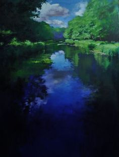 Buy Mottisfont Oil painting by John Welsh on Artfinder. Watch This Space, More Words, Oil Painting On Canvas, Mists, Serenity, Modern Art, Northern Lights, Welsh, Sky