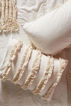 Slide View: Tufted Calamus Shams, Set of 2 How To Make Pillows, Diy Pillows, Custom Pillows, Decorative Pillows, Throw Pillows, Pillow Ideas, Boho Diy, Boho Decor, Boho Cushions
