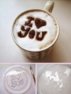 """Regalos manuales de amor: Tutorial caja """"espiral"""" + Escribe un mensaje en su café de forma súper fácil"""