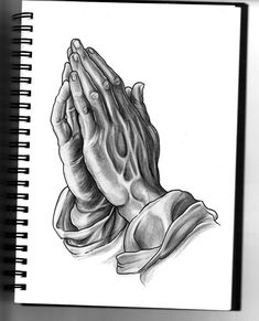 my attempt at the praying hands. 5 hours pencil on a4 sketchbook.