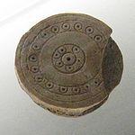 Visite du château de Mayenne 30 mai 2010, pièces de jeux médiévales, X°s-XII°s trouvées à Mayenne