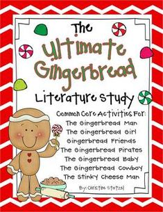 Gingerbread 7 Book Literature Study!