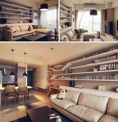 Felines First: Living Room Interior Design Has Cats in Mind Interior Design Layout, Apartment Interior Design, Interior Design Living Room, Chic Living Room, Home Living Room, Girl Apartment Decor, Loft Industrial, Contemporary Apartment, Home Decor Online