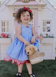 BEAUTIFUL MORNIN Dorothy Wizard Of Oz Country Girl Dance Costume Ballet 4C,6C,12
