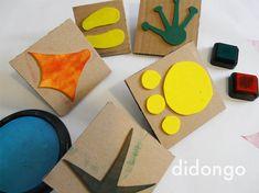 Jugamos a hacer huellas de animales · Didongo