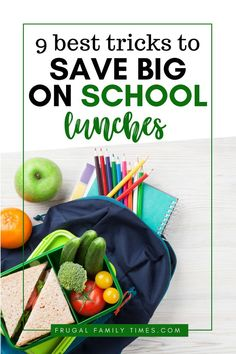 Easy ways to save money on school lunches. These tips make packing lunch for kids cheaper and easier. Healthy school lunches don't have to be expensive. Affordable lunches can be tasty easy and affordable! Frugal Family, Easy Family Meals, Family Recipes, Healthy School Lunches, Packing Lunch, Ways To Save Money, Menu Planning, Sweet Recipes, Saving Money