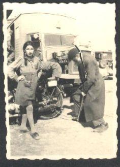 Holocaust - Defiant Jewish Girl