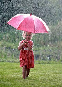 cutie on a rainy day