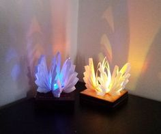3D Quilling: LED Lamp