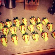 Softball Strawberries !!