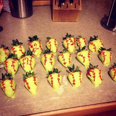 Softball Strawberries !!