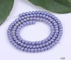 Fashion Beads, Beaded Necklace, Beaded Bracelets, Frosted Glass, Bead Crafts, Pearl Beads, Jewelry Supplies, Glass Beads, Lavender