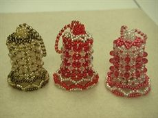 Show details for Beaded Crystal Bell - Pattern
