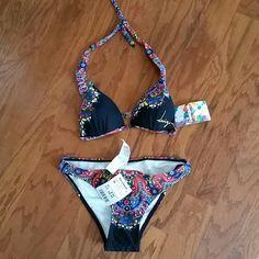 Desigual bikini Very nice colorful bikini...NWT and Beautiful! Desigual Swim Bikinis