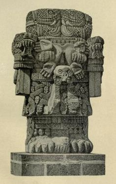 Latin American Mythology by Hartley Burr Alexander Bulfinch's Mythology, Maya Civilization, Ancient Artefacts, Aztec Culture, Aztec Art, Mexica, Sculpture Art, Stone Sculpture, Mesoamerican