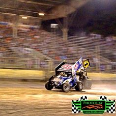 World of Outlaw Dominating Winner Donny Schatz at The Legendary Bullring River Cities Speedway in Grand Forks ND lapping Sprint Cars in dominating fashion ~ Photos By Rick Rea