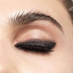 The perfect smudgy smoky eye