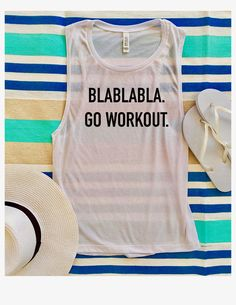 A personal favorite from my Etsy shop https://www.etsy.com/listing/539214635/workout-clothes-workout-tanks-workout