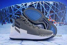 7ae97b94eb59 Discount Adidas D Rose 9 Grey Navy Blue-White