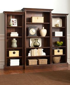 Home office or library - Library Wall Unit.