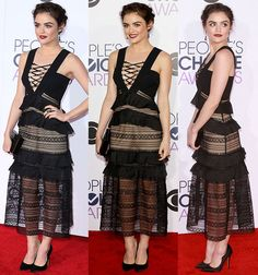 Lucy Hale at People's Choice Awards 2016 held at the Microsoft Theatre L.A. Live in Los Angeles on January 6, 2016