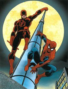 daredevil x spiderman - Buscar con Google