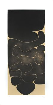 Pasmore Victor : Original aquatint : Black Development