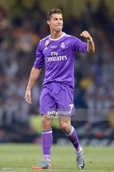 Cristiano Ronaldo of Real Madrid celebrates scoring third goal during the UEFA Champions League Final match between Real Madrid and Juventus at the National Stadium of Wales, Cardiff, Wales on 3 June 2017.