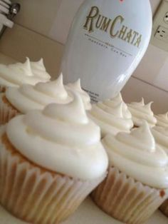 Rum Chata cupcakes!  Made them twice at the holidays and I don't think any one rejected them.