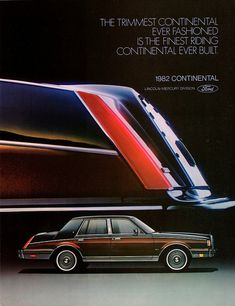 1982 Lincoln Continental by aldenjewell, via Flickr
