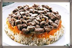 Patlıcan Dilimli Etli Pilav Tarifi ve hazırlanışı
