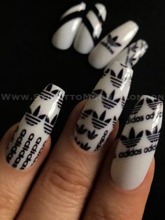 #adidasnails for sale #designernails#coffin nails#fakenails