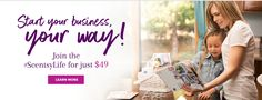 Easy to start your own home business with scentsy.  Visit the website and be sure to write or call me with any questions!