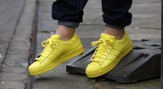 adidas Superstar Supercolor schoenen bright yellow