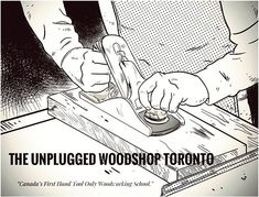 Heres a wonderful piece of work by a student of the Unplugged Woodshop. sent this to me this week and were all blown away by her amazing skills-;) thanks again Meaghan! Toronto Life, Toronto Canada, Hand Tools, Craft Projects, Workshop, Artwork, Student, Drawing, Design