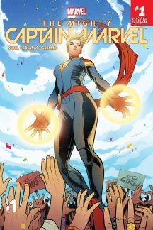 Here's your first look at The Mighty Captain Marvel by writer Margaret Stohl and artist Ramon Rosanas, on sale January 2017 from Marvel Comics. Rare Comic Books, Make A Comic Book, Comic Books For Sale, Captain Marvel, Spiderman Comic Books, Comic Clothes, Marvel Girls, Marvel Dc Comics, Dark Horse