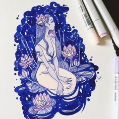 12 Amazing Copic Marker Artist You Should Follow on Instagram - The Curiously Creative