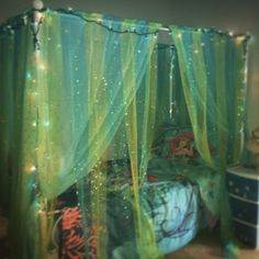 """31 Beautiful Mermaid Theme Bedroom Decor Ideas For Girls - Let's face it, girls think differently than boys. They are born liking pink and """"Cute"""" things. They will gravitate toward Barbies or playing the part . Mermaid Kids Rooms, Little Mermaid Room, Dream Rooms, Dream Bedroom, Girls Bedroom, Bedrooms, Mermaid Bedding, Mermaid Bedroom, My Living Room"""