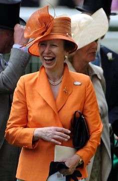 Princess Anne, Princess Royal behind her is Camilla, Duchess of Cornwall attends the first day of Royal Ascot 2009 in England