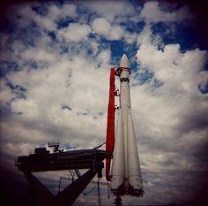 Vostok rocket at VDNKH in Moscow, Russia (photo by Tatiana Zakharova)