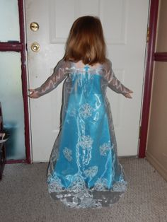 Elsa, The Snow Queen Inspired By Disneyu0027s Frozen Sewn Dress Costume Deluxe  Version #2
