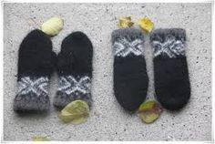 Bilderesultat for lille my votter Gloves, Slippers, Felt, Knitting, Winter, Fashion, Winter Time, Sneaker, Moda
