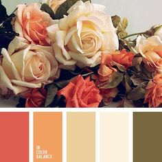 ~ ♥The color palette This palette classic designed for moderate conservative romantics by In Color Balance