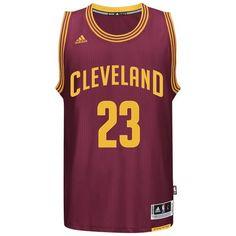 1e7d17af6 adidas - LeBron James Cavaliers Road Swingman Jersey Lebron James  Cavaliers