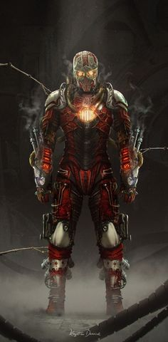 Steampunk IronMan by Nefillim  367 notes