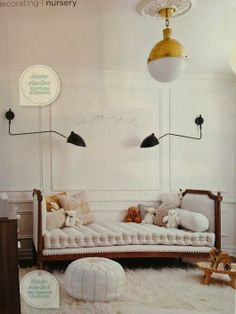 I'm in the midst of designing several kids rooms, which is so much fun! This one in particular has been my inspiration.