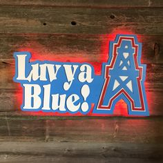 Handmade Wooden Flags & more. All items are made with superior craftsmanship at affordable prices! Painted Wooden Signs, Wooden Flag, Hand Painted, Texans Logo, Houston Oilers, Blue Wall Decor, Love Ya, Stars At Night, Blue Walls